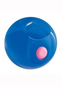 Rock Candy Gummy Balls Blue Finger Vibrator