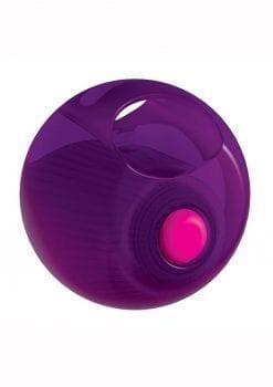 Rock Candy Gummy Balls Purple Finger Massager