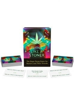 Think Like A Stoner Card Games Novelty Item