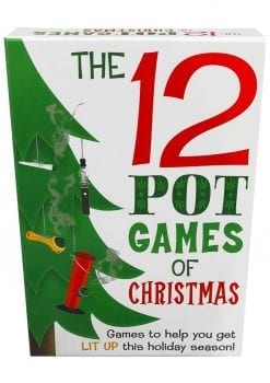 12 Pot Games Of Christmas Novelty