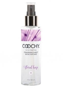 Coochy Oh So Tempting Fragrance Mist Floral Haze 4 Ounce Spray