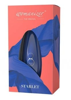 Womanizer Starlet 2 Clitoral Stimulator Rechargeable Waterproof Silicone Blue