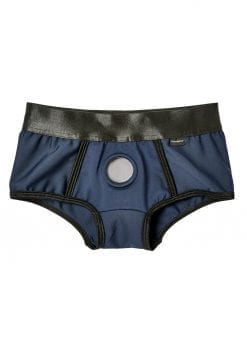 EM. EX. Active Harness Wear Fit Harness Boy Shorts Blue Extra Small-20-22