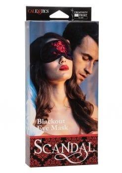Scandal Blackout Eye Mask Bondage