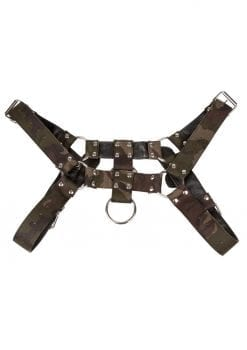 Colt Camo Chest Harness Bondage