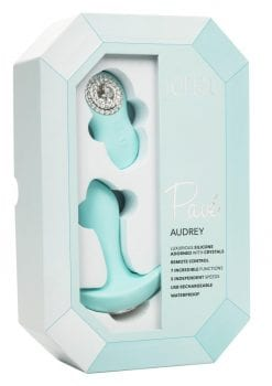 Pave Audrey Vibrating Anal Plug Silicone Multi Speed USB Rechargeable Waterproof  Teal