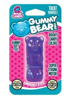 Rock Candy Gummy Bear Vibe Splashproof Purple