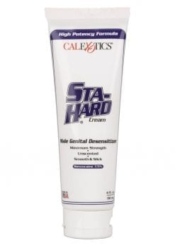 Sta-Hard Desensitizer Cream Male Genital Desensitizer 4oz - Bulk