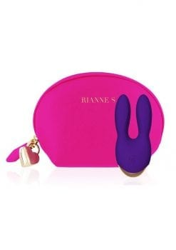 Rianne S Bunny Bliss Deep Multi Speed Multifunction Vibrator Rechargeable Waterproof Purple