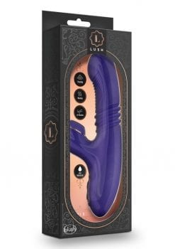 Lush Iris Multi Speed Vibrator Waterproof Rechargeable  Clitoral Stimulator Purple