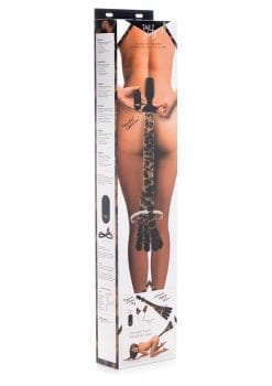 Tailz Waggerz Wireless Remote Controll Moving And Vibrating Tail Anal Plug and Ears Leopard