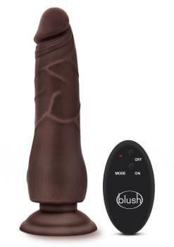 Dr Skin 10 Function Wireless Remote Control Dildo Splashproof 9 Inch Black
