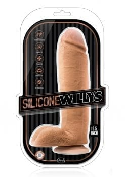 Silicone Willy 10.5 Dildo W/suction Moc