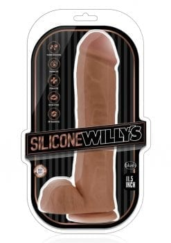 Silicone Willy 11.5 Dildo W/suction Moc