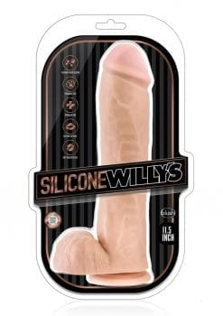 Silicone Willy 11.5 Dildo W/suction Van
