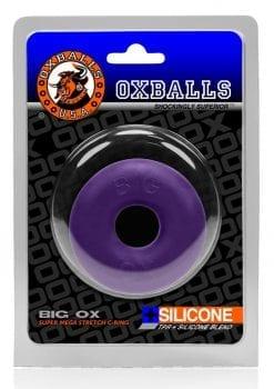 Big Ox Super Mega Stretch Cockring Silicone Purple