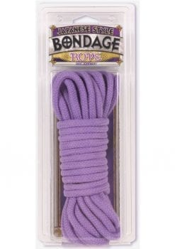 Japanese Style Bondage Rope 32 Feet Purple