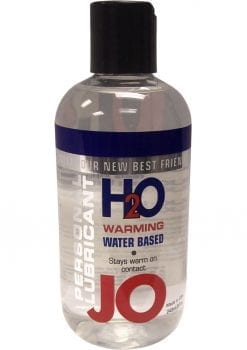 JO H2O Water Based Lubricant Warming 8oz