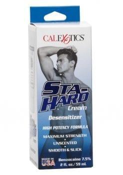 Sta-Hard Cream Male Genital Desensitizer 2oz