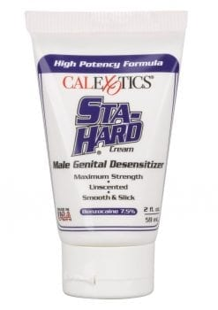 Sta-Hard Cream Male Genital Desensitizer 2oz - Bulk