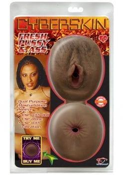 Cyberskin Fresh Pussy And Ass Masturbator Cinnamon