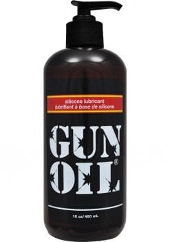 Gun Oil Silicone Lubricant 16 Ounce