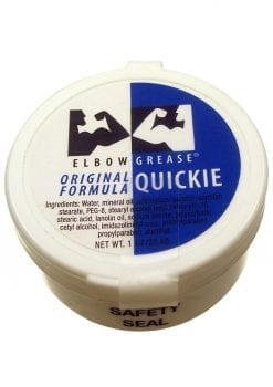 Elbow Grease Original Formula Quickie Cream Lubricant 1 Ounce