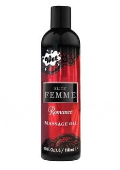 Wet Inttimo Romance Aromatherapy Massage And Bath Oil 4 Ounce