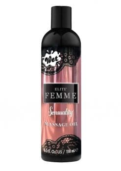 Wet Inttimo Sensuality Aromatherapy Massage And Bath Oil 4 Ounce