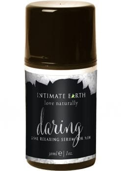 Intimate Earth Daring Mens Anal Relaxing Serum For Men Lemongrass 1oz