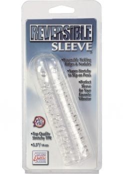 Reversible Sleeve 5.5 inch Clear