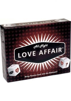 All Night Love Affair Card Game