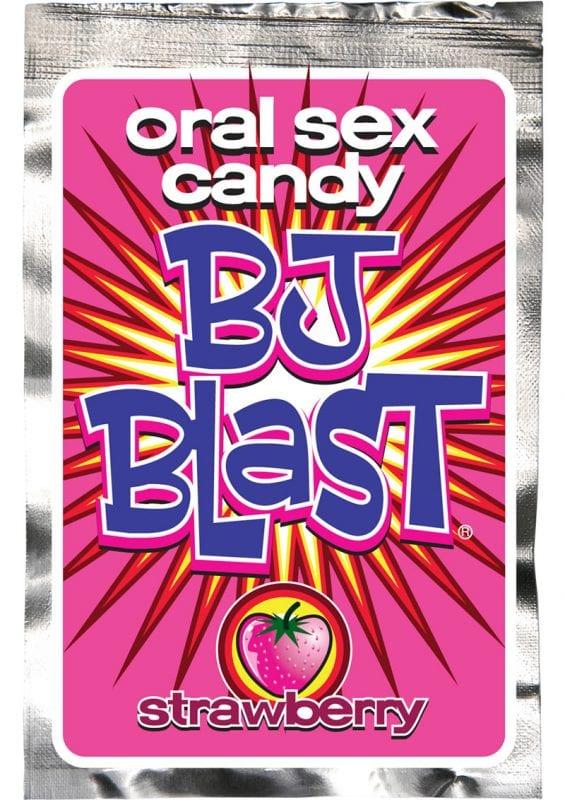 BJ Blast Oral Sex Candy Strawberry