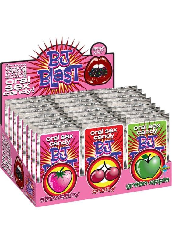 BJ Blast Oral Sex Candy 36 Display Assorted Flavor