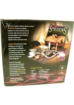 Sensations A Sensuous Game For Lovers Board Game