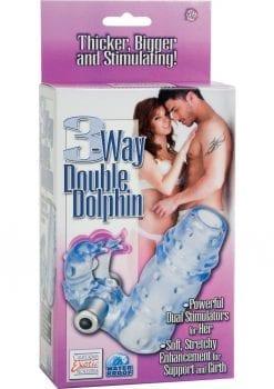 3 Way Double Dolphin Blue Waterproof