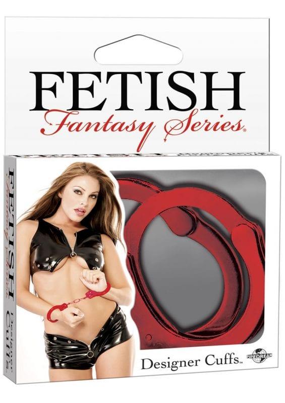 Fetish Fantasy Series Designer Cuffs Red