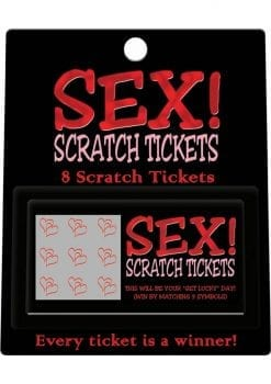 Sex Scratch Tickets 8 Per Pack