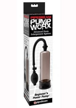 Pump Worx Beginners Power Pump With Cockring Smoke