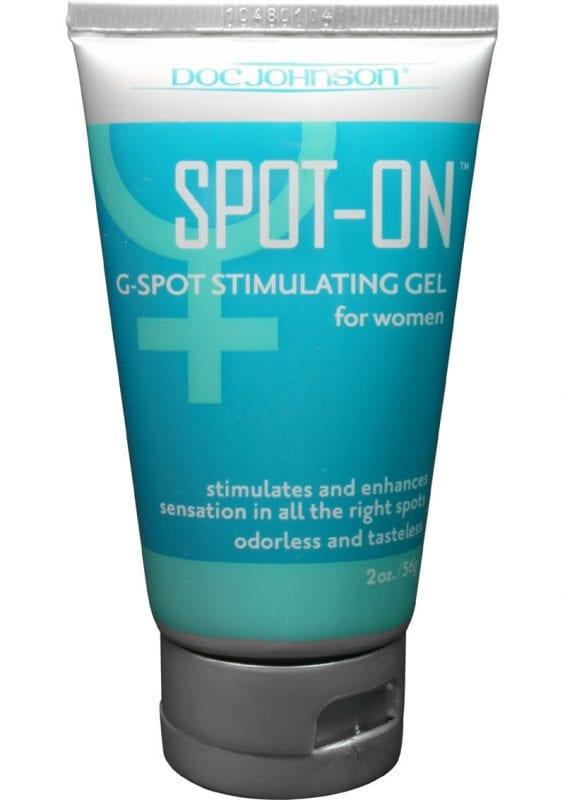 Spot On G Spot Stimulating Gel For Women 2 Ounce Bulk