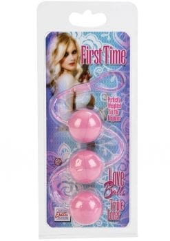 First Time Love Balls Triple Lover Perfectly Weighted For The Beginner Pink