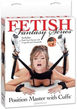 Fetish Fantasy Position Master With Cuffs Black
