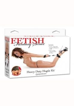 Fetish Fantasy Heavy Duty Hogtie Kit Black