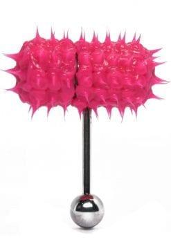 Lix Thrasher Oral Vibrator Glow In The Dark Pink