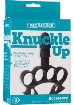 Vac U Lock Knuckle Up Black