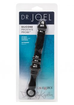 Dr Joel Kaplan Silicone Prostate Probe 7.75 Inch Black