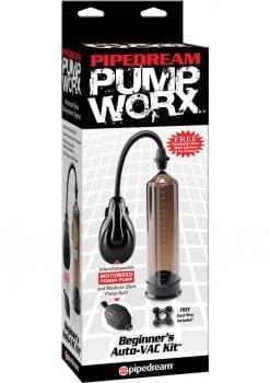 Pump Worx Beginners Auto Vac Penis Pump Kit