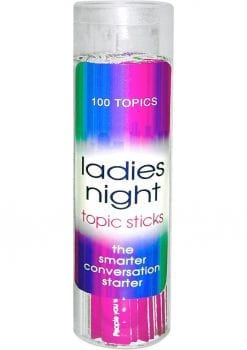 Ladies Night Topic Sticks Game