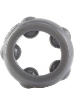 Ringo Rangler Cannonball Cockring Grey 10 Each Per Box