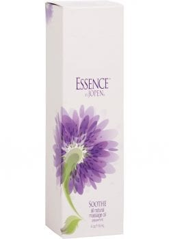 Essence Sooth All Natural Massage Oil Peppermint 4 Ounce